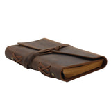 MWL- 036 Montana West Western Vintage Genuine Leather Journal Notebook Handheld Size 6.5