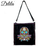 Lapidaria Embroidered Tote Bag - Montana West World