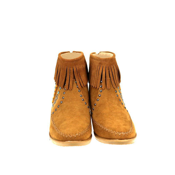 MBT-1907  Montana West Western Booties - Brown By Size - Montana West World