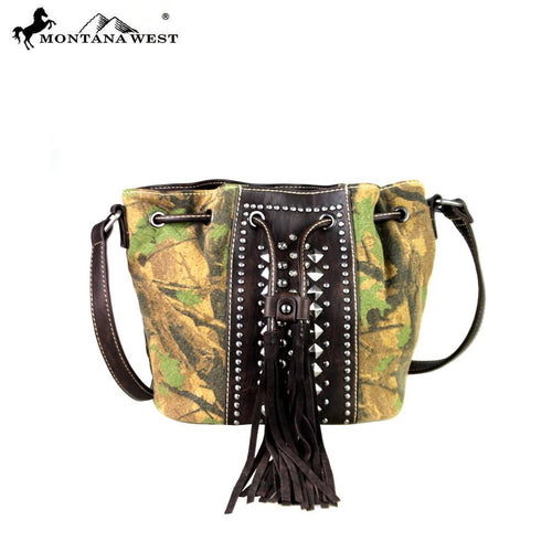 Treebine Camo Crossbody Bag - Montana West World