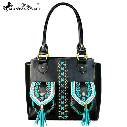 Eranthemum Concho Tote Bag - Montana West World