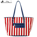 American Pride XL Patriotic Tote Bag - Montana West World