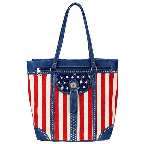 MW730-8485 Montana West American Pride Collection Tote - Montana West World