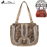 MW747G-8317 Montana West Concho Collection Concealed Carry Tote - Montana West World