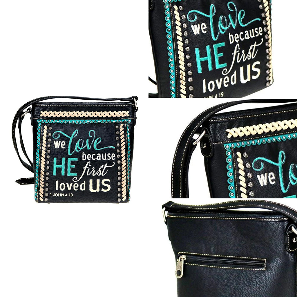Bible Verse Crossbody Bag - Montana West World