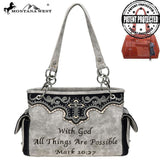 MW809G-8085  Montana West Spiritual Collection Concealed Carry Satchel