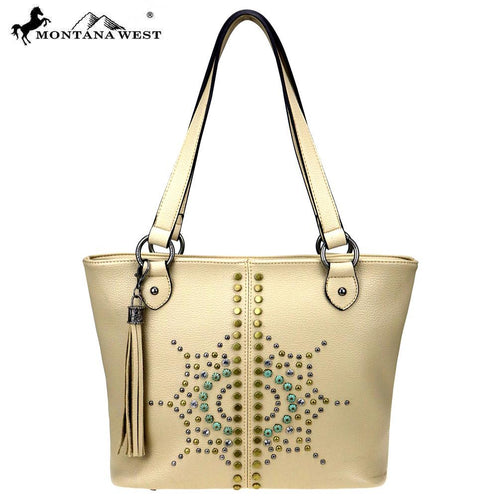 MW810-8317 Montana West Aztec Collection Tote - Montana West World