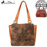 Coniogramme Spiritual Concealed Carry Tote Bag - Montana West World