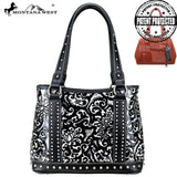 MW824G-8036 Montana West Vintage Floral Collection Concealed Carry Tote
