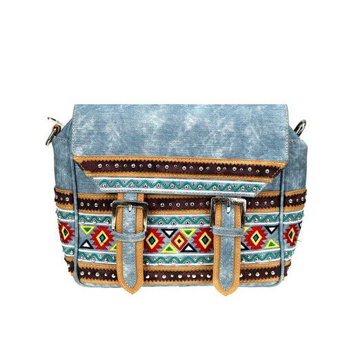 MW885-8511 Montana West Aztec Collection Crossbody/Backpack - Montana West World