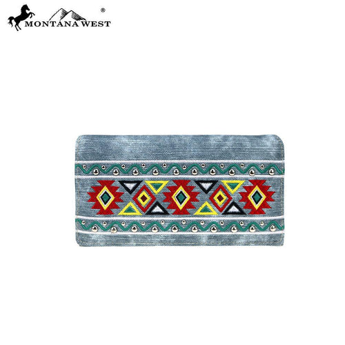 MW885-W010 Montana West Aztec Collection Wallet - Montana West World