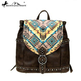 MW899-9110 Montana West Aztec Collection Backpack - Montana West World
