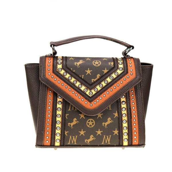 Malabare Signature Monogram Tote - Montana West World