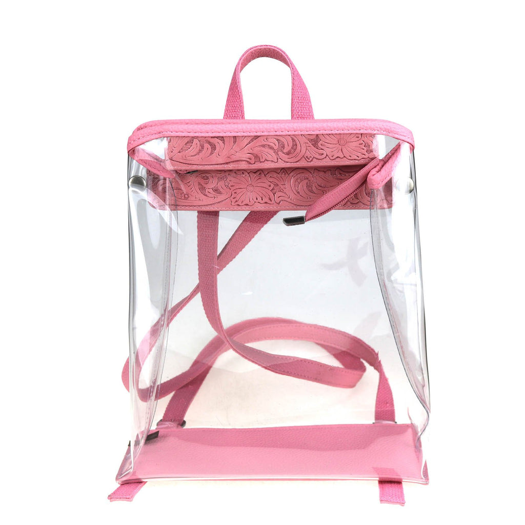 Ixora Clear Backpack - Montana West World