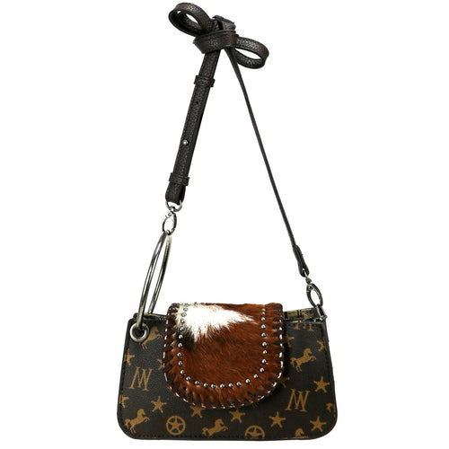 Calophaca Signature Monogram Shoulder Bag - Montana West World