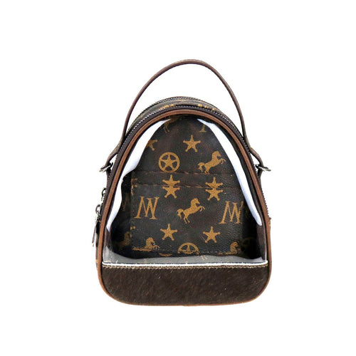 Calophaca Signature Monogram Mini Bag - Montana West World