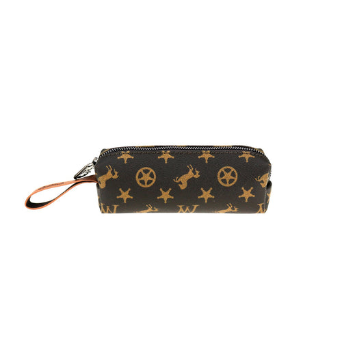 Calophaca Signature Monogram Cosmetic Case - Montana West World