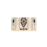MW920-W010 Montana West Aztec Collection Secretary Style Wallet
