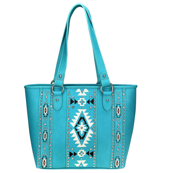 Aconite Aztec Concealed Carry Tote - Montana West World
