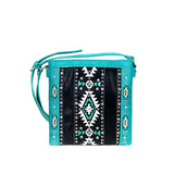 Aconite Aztec Concealed Carry Crossbody Bag - Montana West World