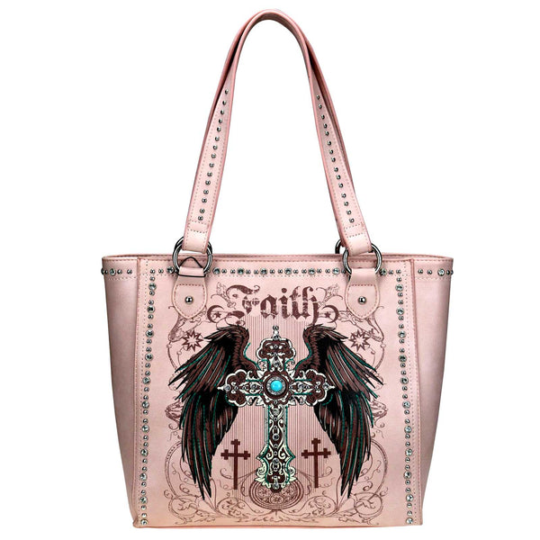 Arundina Spiritual Concealed Carry Tote - Montana West World