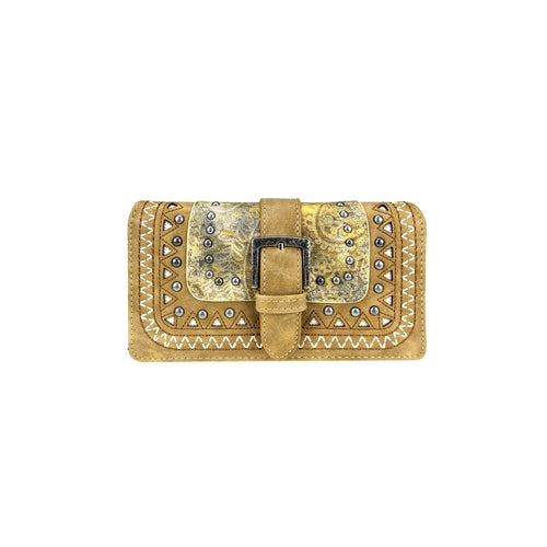 MW947-W010 Montana West Buckle Collection Wallet