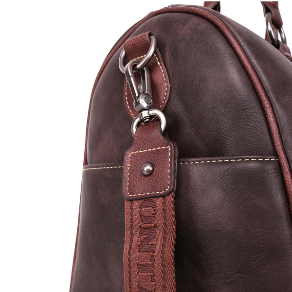 MW952-5110 Montana West Studded Collection Duffle Bag - Montana West World