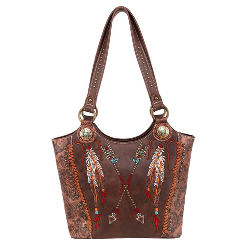 Astrocaryum M Aztec Concealed Carry Tote - Montana West World