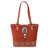 Araujia Buckle Concealed Carry Tote - Montana West World