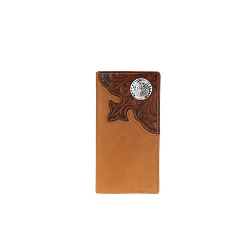 MWL-W029 Genuine Tooled Leather Collection Men's Wallet - Montana West World