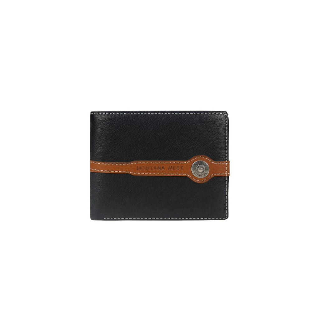 Shot Gun Shell Men's Wallet - Montana West World