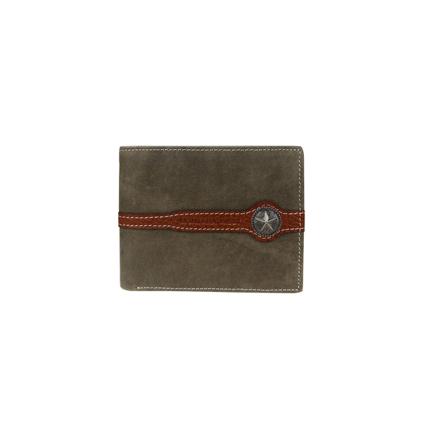 Lone Star Concho Men's Wallet - Montana West World
