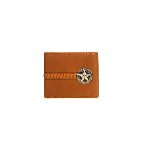 MWS-W024 Genuine Leather Lonestar Collection Men's Wallet - Montana West World