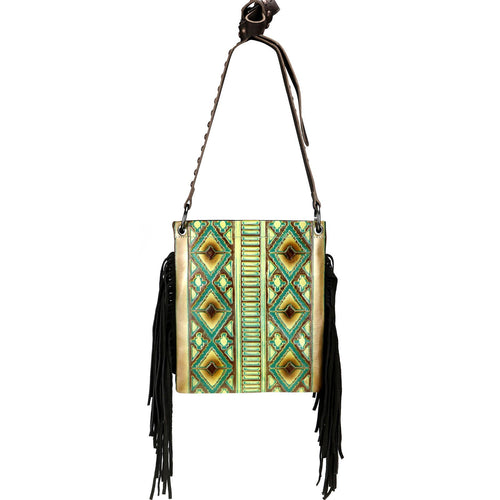 Epiphyllum Fringe Crossbody Bag - Montana West World