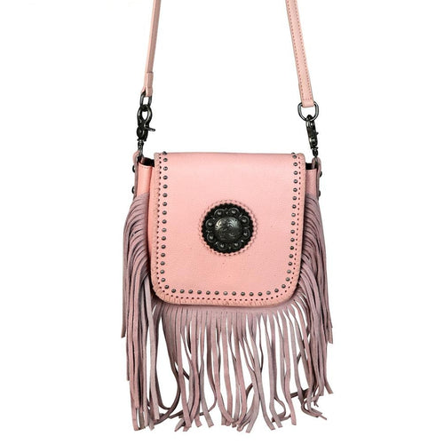 RLC-L080 Montana West 100% Real Leather Crossbody - Montana West World