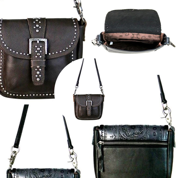 Unguispina Buckle Crossbody Bag - Montana West World