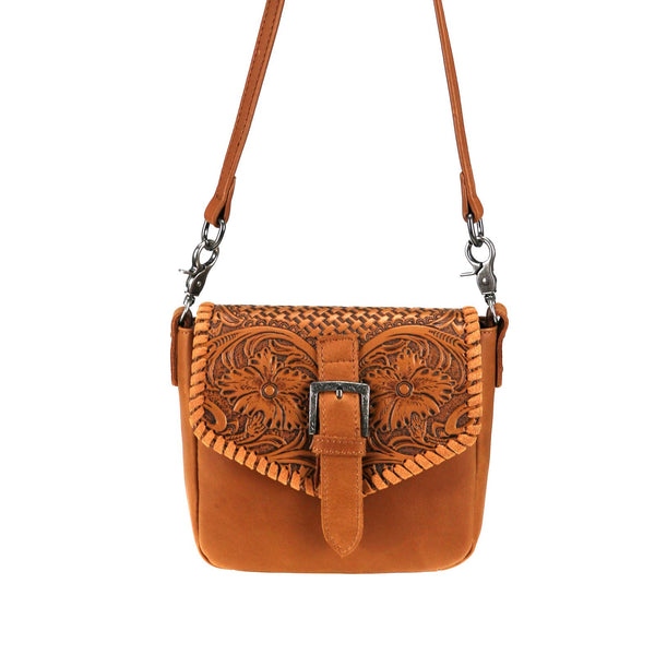 RLC-L117 Montana West Real Leather Crossbody