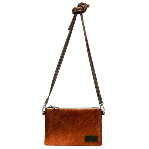 RLH-005 Montana West Hair-On Cowhide Leather Clutch/Crossbody - Montana West World