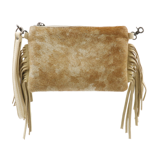 Rauschii Hair-On Cowhide Clutch - Montana West World