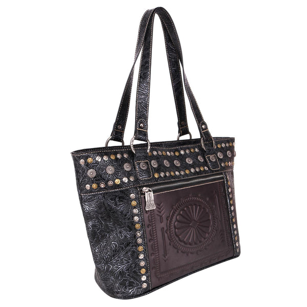 Operculicarya Embossed Concealed Carry Wide Tote Bag - Montana West World