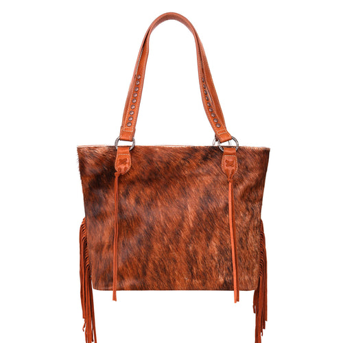 Plumosa Fringe Concealed Carry Tote Bag - Montana West World