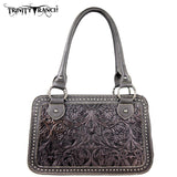 TR18-L8247 Trinity Ranch Tooled Design Collection Handbag