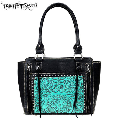 Crocus Embossed Tote Bag - Montana West World
