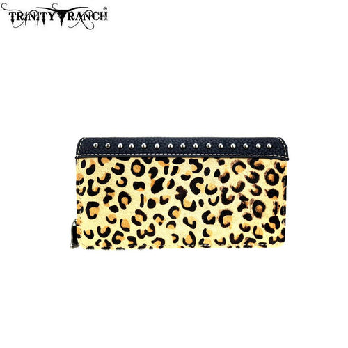 TR96-W010 Trinity Ranch Hair-On Collection Secretary Style Wallet