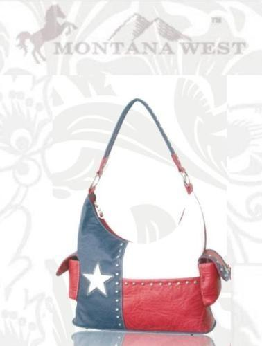 TX-8226K Montana West Texas Pride Collection Handbag - Montana West World