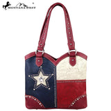 TX03-8097 Montana West Texas Pride Collection Handbag - Montana West World
