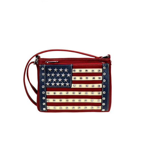 American Pride Organizer Crossbody Bag - Montana West World