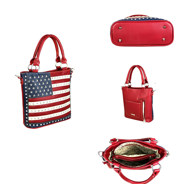 American Pride Concealed Carry Tote Bag - Montana West World