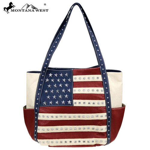 US19-8270 Montana West American Pride Collection Tote - Montana West World