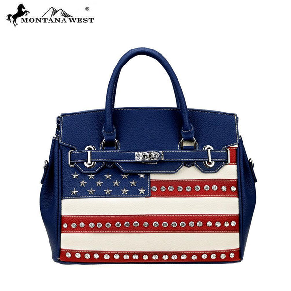 US20-811 Montana West American Pride Collection Tote/Crossbody - Montana West World